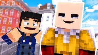 Minecraft: INCRÍVEL HERÓI #01 - CONHECI UM SUPER HERÓI !! (One Punch Man)