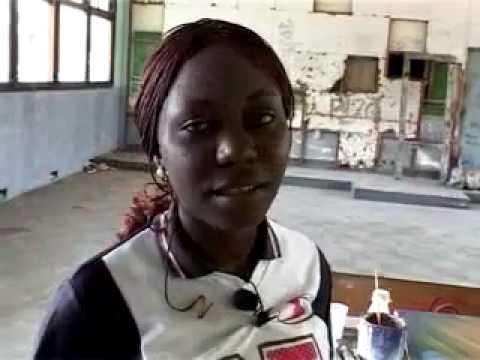 Ange Artiste peintre en RDC 2002-2003.mp4