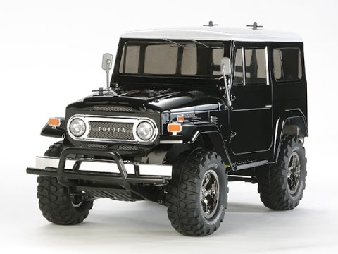 unbox jeep toyota land cruiser 40 controle remoto tamiya magazine do porto youtube. Black Bedroom Furniture Sets. Home Design Ideas
