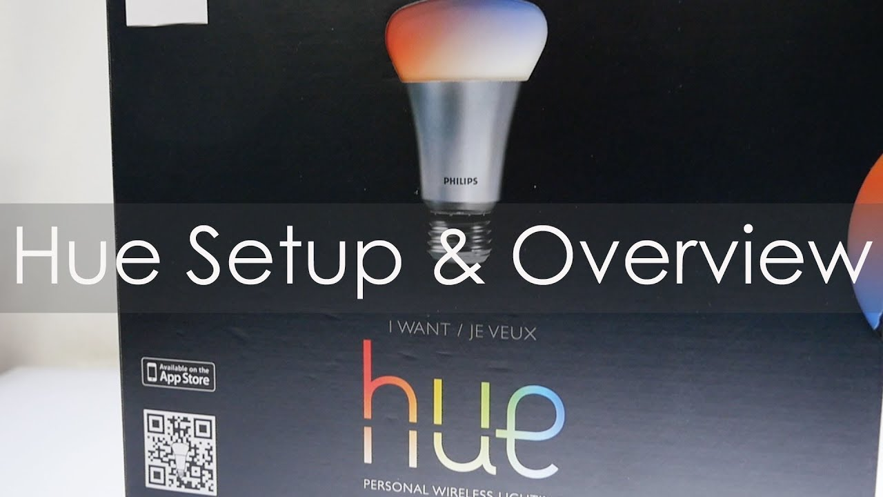 philips hue wireless lighting system unboxing setup overview youtube