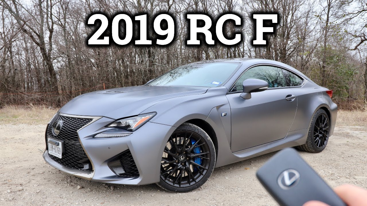 2019 Lexus Rc F Review Drive Underrated V8 Coupe Youtube