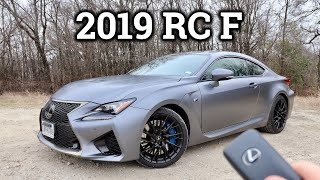 2019 Lexus RC F Review & Drive | Underrated V8 Coupe