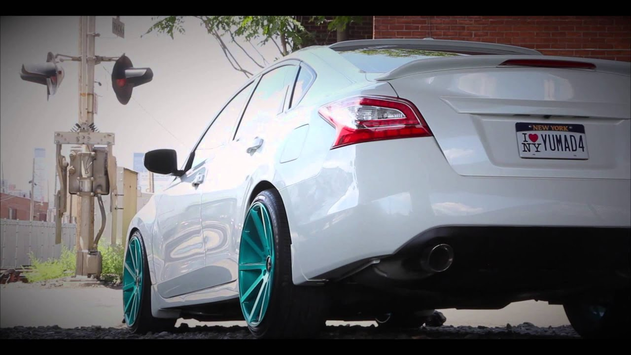 Bagged Nissan Altima 2014 Youtube