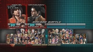 Tekken Tag Tournament 2 - Dragunov/Miguel Playthrough (PS3)