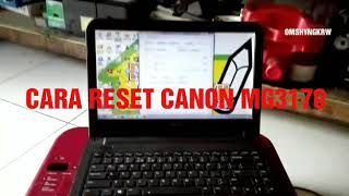 CARA RESET CANON MG3170