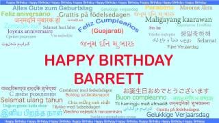 Barrett   Languages Idiomas - Happy Birthday