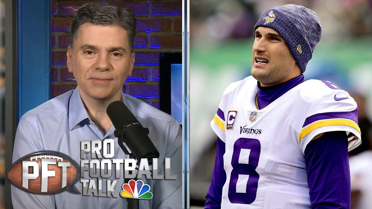 new styles d6c3b d9771 Can Kirk Cousins, Minnesota Vikings win more than nine games? | PFT Live  Draft | NBC Sports