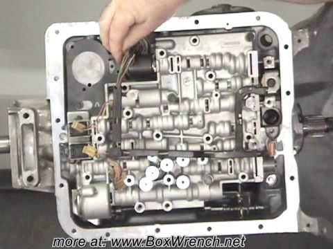 700r4 exploded diagram mercury marine alternator wiring automatic transmission valve body install - 4l60e shift kit youtube