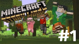THE ORDER OF THE PIG! | MINECRAFT STORY MODE