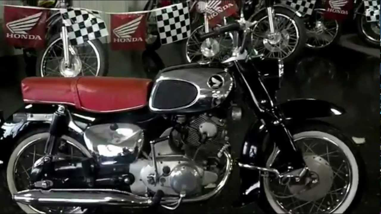 1964 honda 305 dream for sale walk around video honda of chattanooga vintage honda motorcycles [ 1280 x 720 Pixel ]