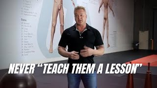 Never Teach Them A Leṡson - Target Focus Training - Tim Larkin - Self Defense - Awareness