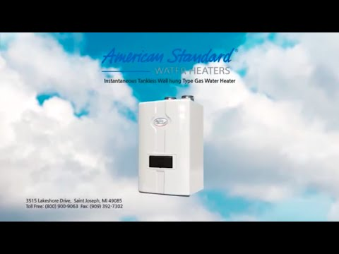 American Standard Water Heaters - Tankless Condensing Water Heaters