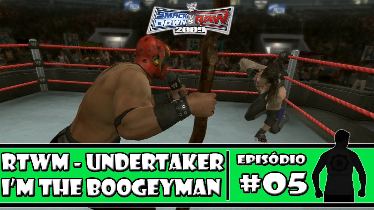Download WWE SmackDown vs Raw 2009 - Road to Wrestlemania: Undertaker - #05 - I'm The Boogeyman