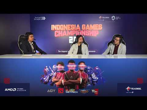PG.BARRACX vs  THE MISCHIEF I Vainglory I Indonesia Games Championship 2018 I Qualification