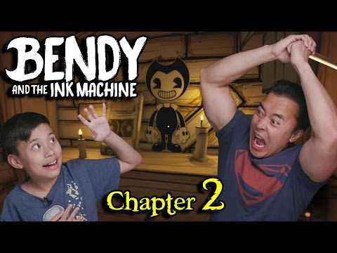 Thumbnail: INK MONSTERS!!!! BENDY and the INK MACHINE - Chapter 2 THE OLD SONG