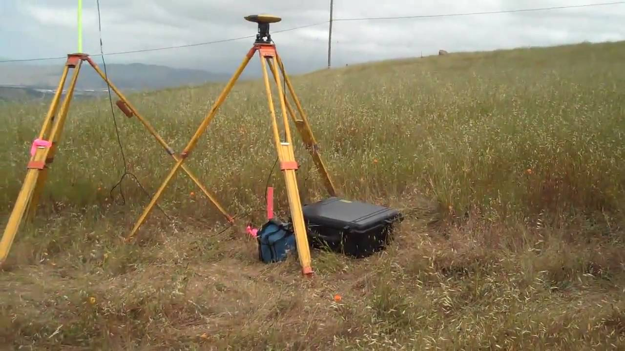 Carnes Amp Associates Surveying With Gps Youtube