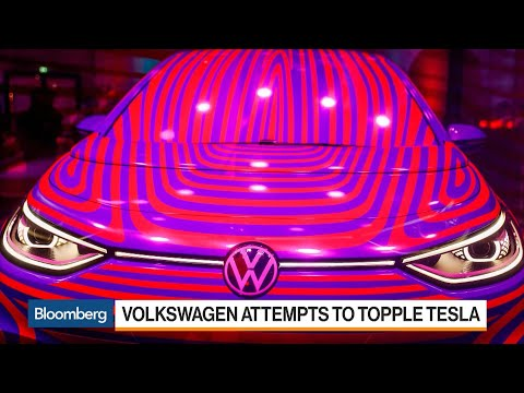 VW Shows Off Electric Car to Take on Tesla