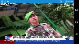 Abu Bastian Perwira TNI Humanis