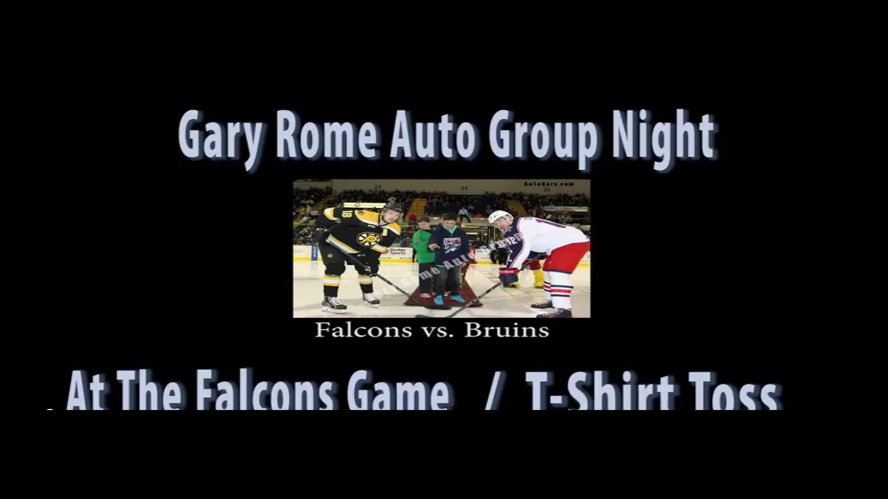 gary rome auto group night springfield falcons youtube. Black Bedroom Furniture Sets. Home Design Ideas