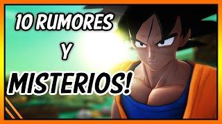 LOS 10 RUMORES Y MISTERIOS EN VIDEOJUEGOS DE DRAGON BALL MAS...