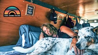 After Divorce She Downsized Into A $5k Budget Conversion Van - Finding Freedom At 52