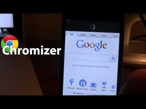 Chromizer - Full Screen & Pull To Refresh on Chrome iOS