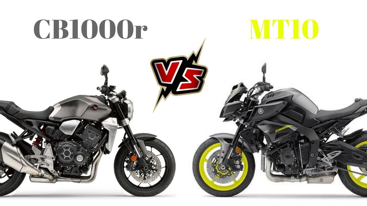 Honda Cb1000r Vs Yamaha Mt10 Youtube