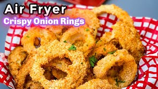 Air Fryer Homemade Onion Rings