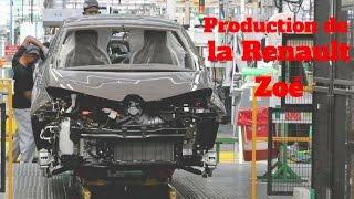 Comment est fabriquée la Renault Zoé ?