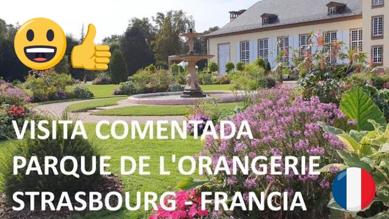 Visita comentada del parque de l'Orangerie en Strasbourg, Francia (Extracto)