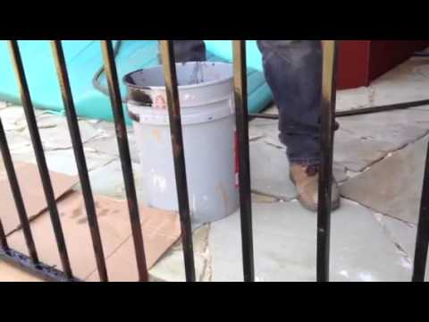 Wrought Iron Fence Paint and 2 Part Epoxy Primer