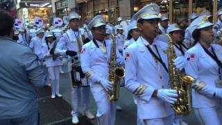 Marching band from Panama