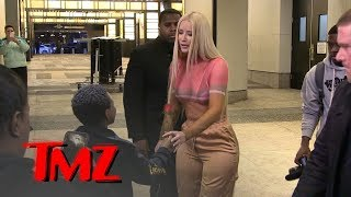 iggy azalea meets smoothest kid ever on valentines day tmz