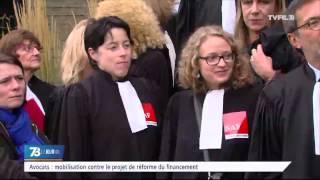 Justice : les avocats encore mobilisés