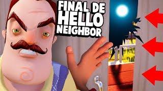 DESCOBRI O FIM DE HELLO NEIGHBOR ACIDENTALMENTE!!! A MÃE DO VIZINHO CHEGOU!   Hello Neighbor (NOVO)