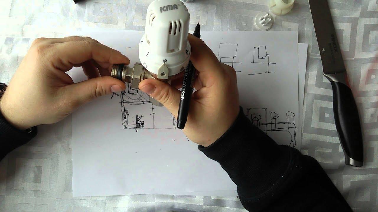 Термоголовка для радиаторов
