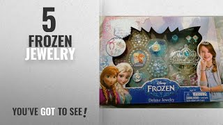 Top 10 Frozen Jewelry [2018]: Disneys Frozen Deluxe Jewelry Kit