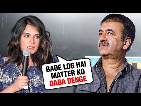 Richa Chadda SHOCKING REACTION On Rajkumar Hirani METOO Mp3