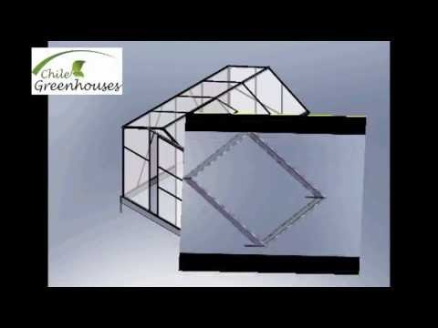 Invernaderos para casas Chile Greenhouses