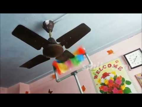 How To Clean Dusty Ceiling Fan Without Stooland Without Ladder-/Ceiling Fan சுத்தம் செய்யும் Tool