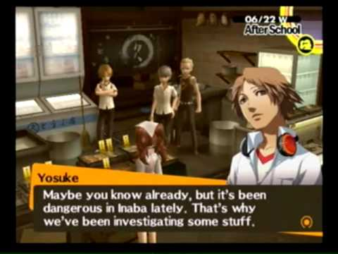 """Let's Play Persona 4 Pt. 46 """"Her curves, Her posture..."""