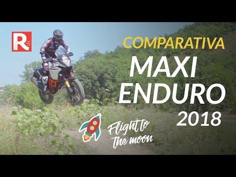 """La Migliore Moto Maxi Enduro 21"""" - Comparativa 2018"""