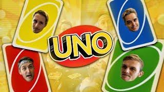 """Gezellig """"UNO"""" spelen in de huiskamer."""