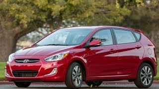 2015 Hyundai Accent Start Up and Review 1.6 L 4 Cylinder