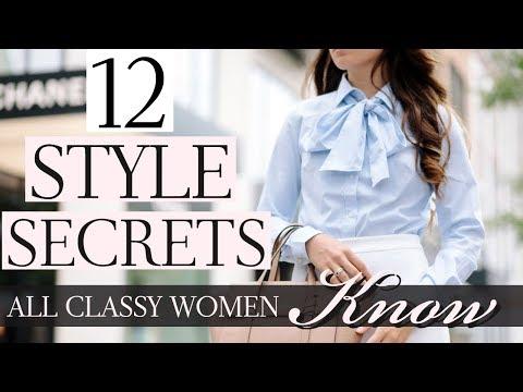 12 Style Secrets All Classy Women Know