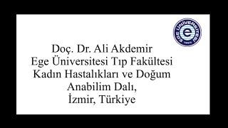 Total Laparoskopik Histerektomi - Doç Dr Ali Akdemir