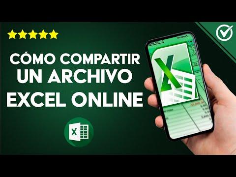 Cómo Trabajar o Compartir un Archivo Excel Online con Varias Personas a la vez