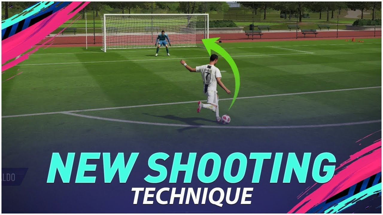 THE SECRET IS OUT !!! HOW TO PERFORM THE SPECIAL DRIVEN FINESSE SHOT in FIFA 19 - TUTORIAL !!!