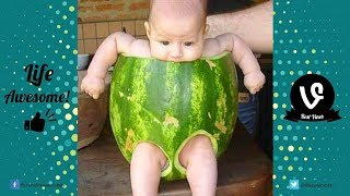 TRY NOT TO LAUGH or GRIN  Funny Kids Fails Compilation 2017   Best Funny Baby Fails 2017