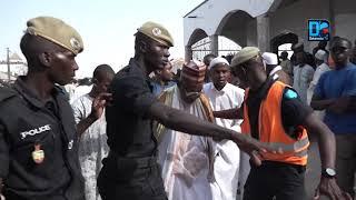 kaolack l'indescriptible scene lors de l'enterrement de Sidy Lamine Niass